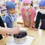 【4.5歳児】クリスマスケーキ作り