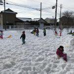 【4.5歳児 雪遊び】