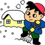 【お知らせ】大雪警戒のため、明日12日英語フリー参観は中止にします