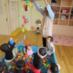 【1歳児】ボール遊び