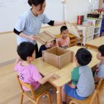 【4,5歳児】柿の葉寿司づくり