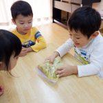 【3歳児】スイートポテト作り♡