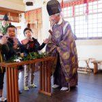 【神社で七五三詣りをしました。】