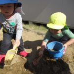 【1歳児】お砂遊び