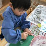 [2歳児]クリスマスの制作♪