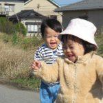 [0歳児]秋のお散歩