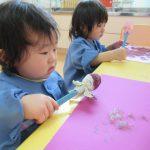 [1歳児]つぼみ2・製作あそび大好き!