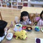 【3歳児】今日の様子