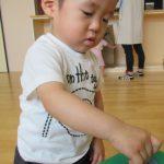 [1歳児 つぼみ2組] 室内遊び