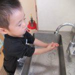 [1歳児 つぼみ2組]手洗い