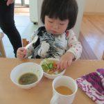 【0歳児】食事とお昼寝のようすです