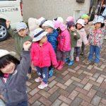 【2歳児】冬のお散歩!