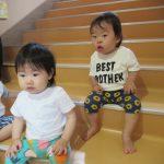 【0歳児】ひよこ組の夏祭りごっこ♪